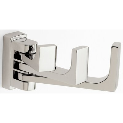 Motiv Frame Triple Pivoting Hook in Satin Nickel
