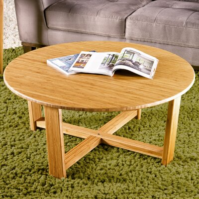 Greenington Daisy Bamboo Coffee Table