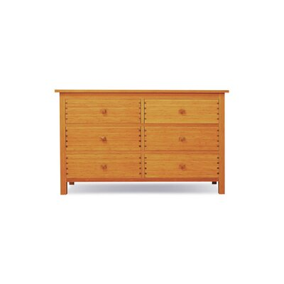 Greenington Hosta 6 Drawer Bamboo Dresser