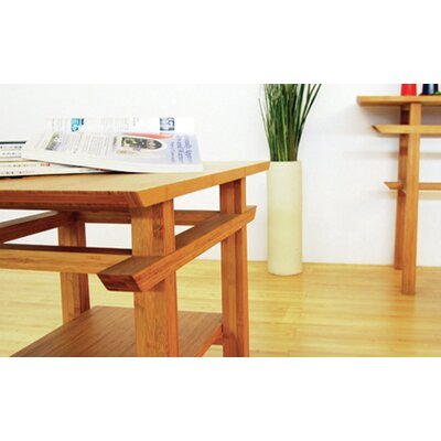 Greenington Lotus Coffee Bamboo Table