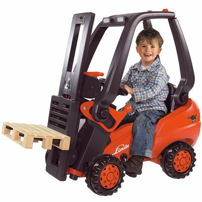 Big Toys Linde Forklift Pedal Construction Vehicle
