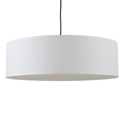 Lights Up! Meridian 2 Light Drum Pendant