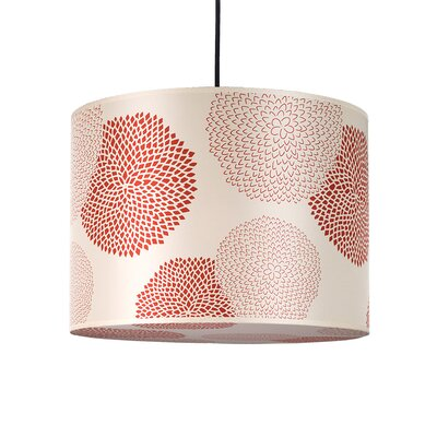 Lights Up! Meridian 2 Light Large Drum Pendant