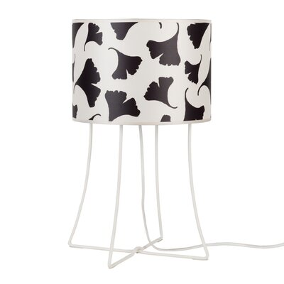 """Lights Up! Virgil 21"""" H Table Lamp with Drum Shade"""