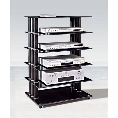 By Designs Modern TV Stand in Black