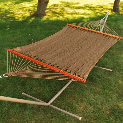 Algoma Net Company Tight Weave Soft Polyester Rope Hammock