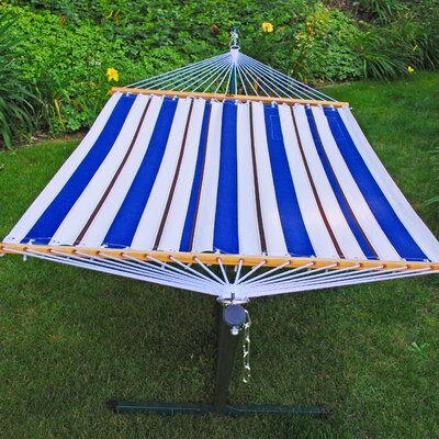 Algoma Net Company Fabric Hammock and Stand Combination