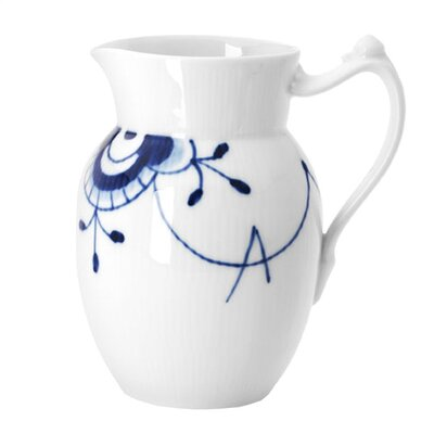 Blue Fluted Mega 23.75 Oz Pitcher