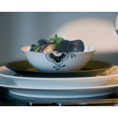 Royal Copenhagen Black Fluted Mega 11.75 oz.Bowl