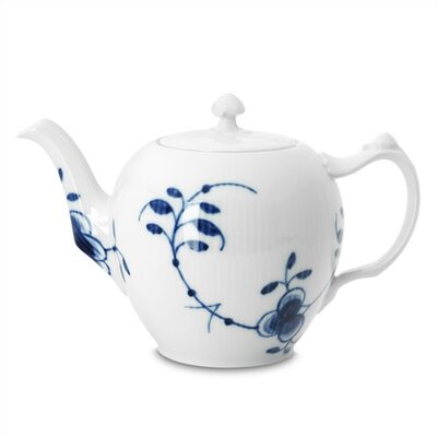 Royal Copenhagen Blue Fluted Mega 33.75 Oz Teapot