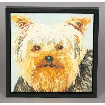 Unleashed Life Yorkie Original Oil Painting