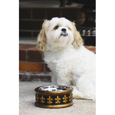 Unleashed Life Chartres Dog Bowl