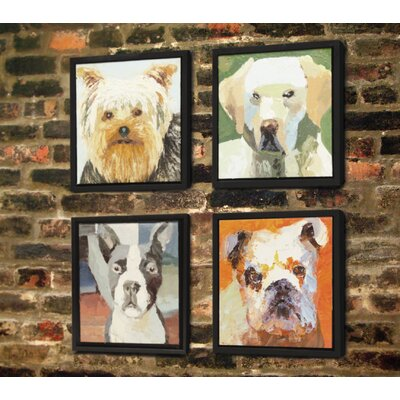 Unleashed Life English Bulldog Oil Painting