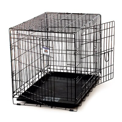 Miller Manufacturing Pet Lodge Wire Dog Crate - Medium