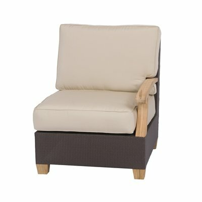 Three Birds Casual Ciera Left / Right Side Facing  Armchair with Cushions (Set of 2)