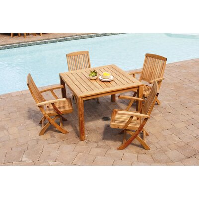 Three Birds Casual Newport 5 Piece Dining Set