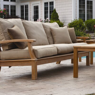 Monterey Deep Seating Sofa with Cushions