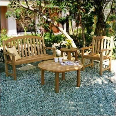 Three Birds Casual Victoria Garden Bench Seating Group
