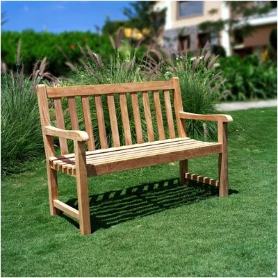 Three Birds Casual Classic Teak Garden Bench