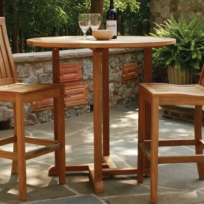 "Three Birds Casual Oxford 36"" Round Bar Table"