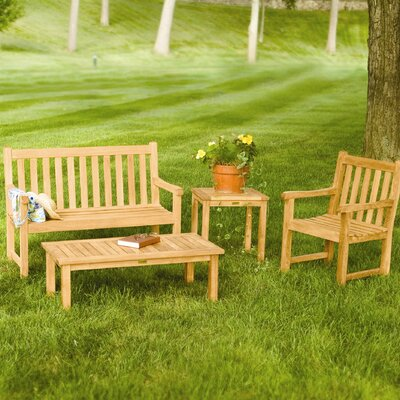 Three Birds Casual Classic Bench Seating Group