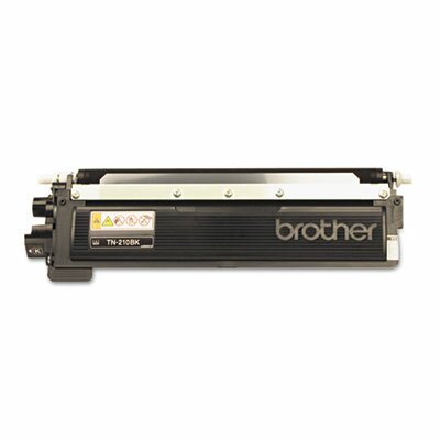 Brother Tn210Bk Toner, 2200 Page-Yield