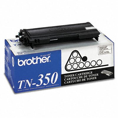Brother Tn350 2500 Page-Yield Toner, 2500 Page-Yield