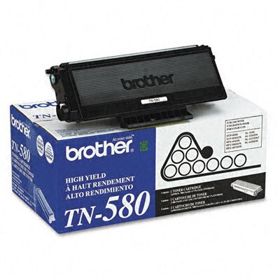 Brother Tn580 High-Yield Toner, 7000 Page-Yield