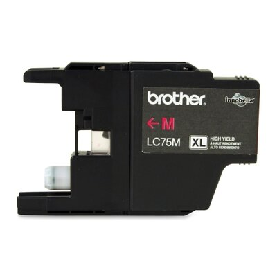 Brother Lc75M (Lc-75M) High-Yield Ink, 600 Page-Yield
