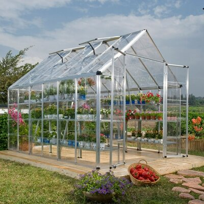 Poly-Tex Snap and Grow Polycarbonate Greenhouse