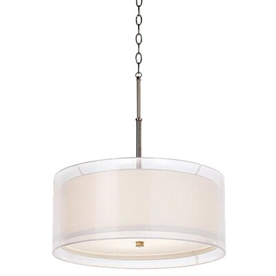 <strong>Pacific Coast Lighting</strong> Seeri 3 Light Drum Pendant