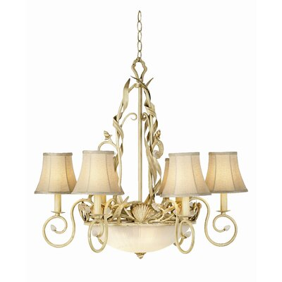 Pacific Coast Lighting Gallery 6 Light Sandy Beach Chandelier