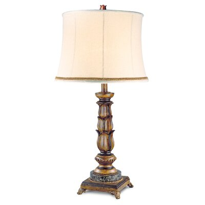 Pacific Coast Lighting Essentials Kathy Ireland Golden Treasure Table Lamp