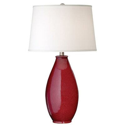 Pacific Coast Lighting Ruby Tuesday Table Lamp in Red