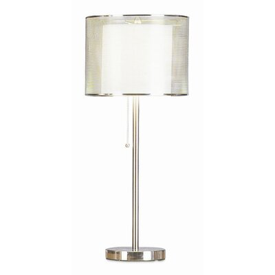 "Pacific Coast Lighting PCL Urban Mystique 28"" H Table Lamp with Drum Shade"