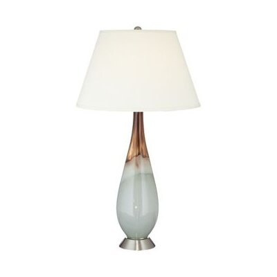 Pacific Coast Lighting Jade and Hand Blown Glass 1 Light Table Lamp