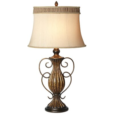 Pacific Coast Lighting Kathy Ireland Essentials Tuscan Villa Table Lamp