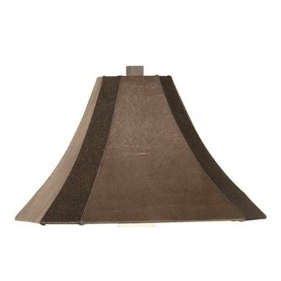 Pacific Coast Lighting Replacement Shade for Del Rey Table Lamp in Rust