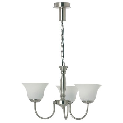 Crompton Lighting Bell Shape DIY Chandelier in Satin Chrome