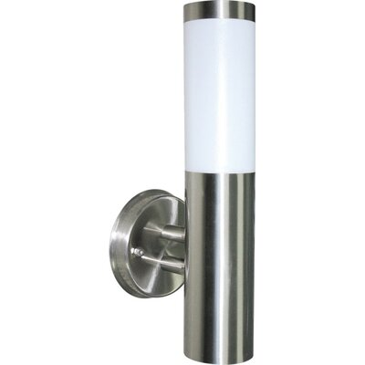 Sunny Lighting Murray I Wall Light in Stainless Steel