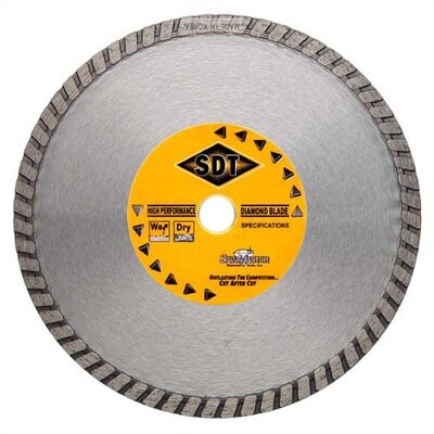 SawMaster General Purpose/Masonry Turbo Rim Diamond Blades