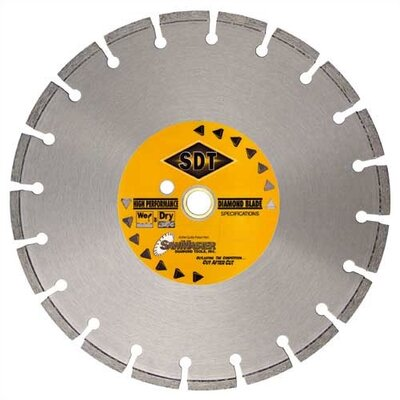 SawMaster Masonry Wet Cutting Pro Series Laser Weld Segmented Diamond Blades