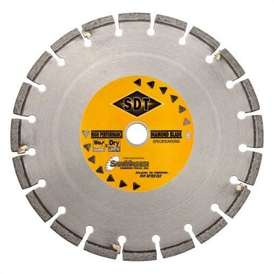 Asphalt Wet Cutting Segmented Diamond Blades for Walk Behind Saws
