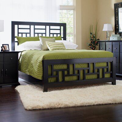 Broyhill® Perspectives Lattice Bed in Graphite