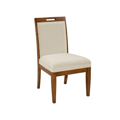 Suede Upholstered Back Side Chair