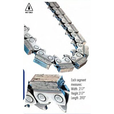 "Diteq 13"" C44 Hydro ICS Diamond Chain"