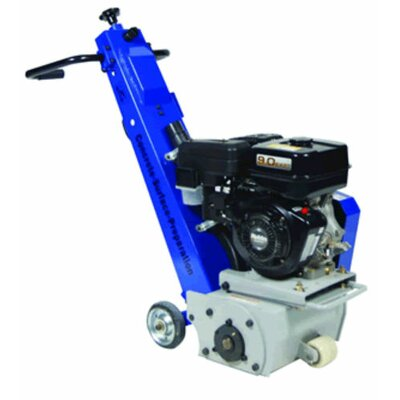 Diteq Equipment 9 HP Gas Walk Behind Scarifier Band Saw