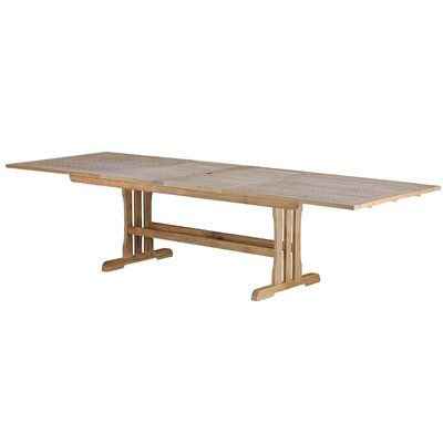 Arbora Teak Geneva Teak Rectangular Double Extension Dining Table