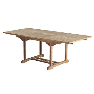 Arbora Teak Bermuda Teak Rectangular Dining Table