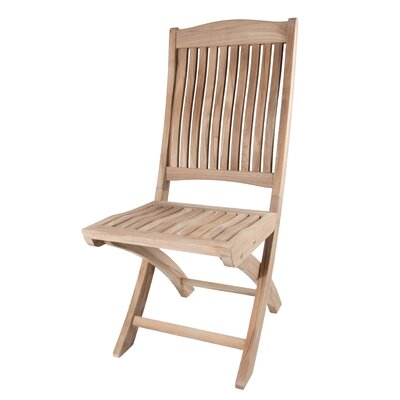 Arbora Teak Batavia Folding Dining Side Chairs